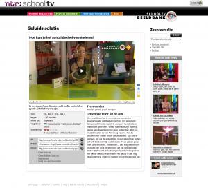 Schooltv-beeldbank screenshot: filmpje met tekst