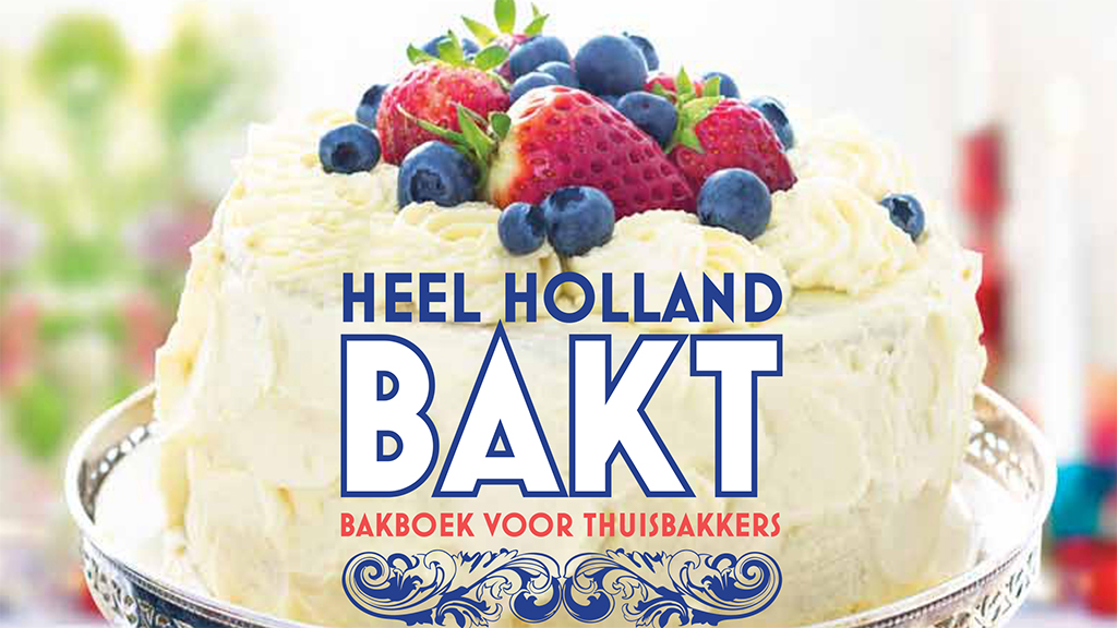 Heel Holland Bakt kookboek